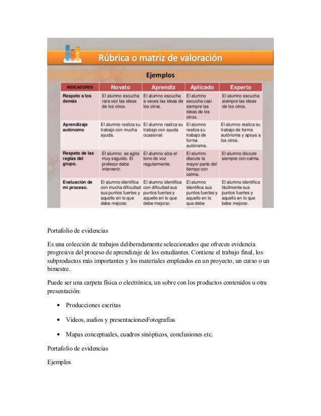 INSTRUMENTO DE EVALUACION  Slide 3