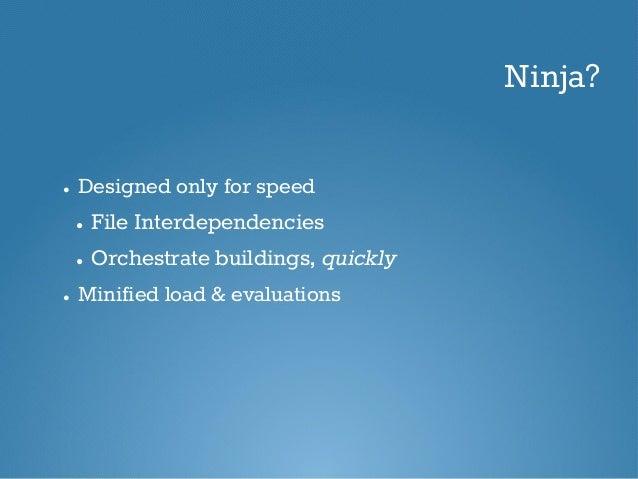 Ninja Build: Simple Guide for Beginners Slide 3
