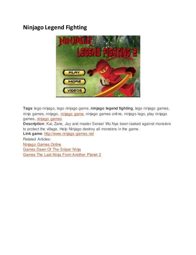 Ninjago Legend Fighting Tags: lego ninjago, lego ninjago game, ninjago legend fighting, lego ninjago games, ninja games, n...