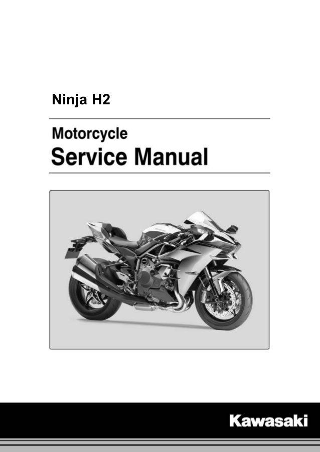 Kawasaki Ninja H2 Zx1000nf 15 Service Manual