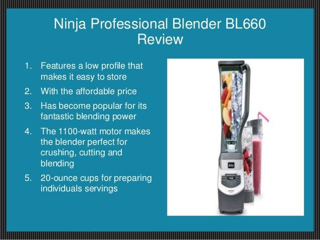 ninja blender bl660