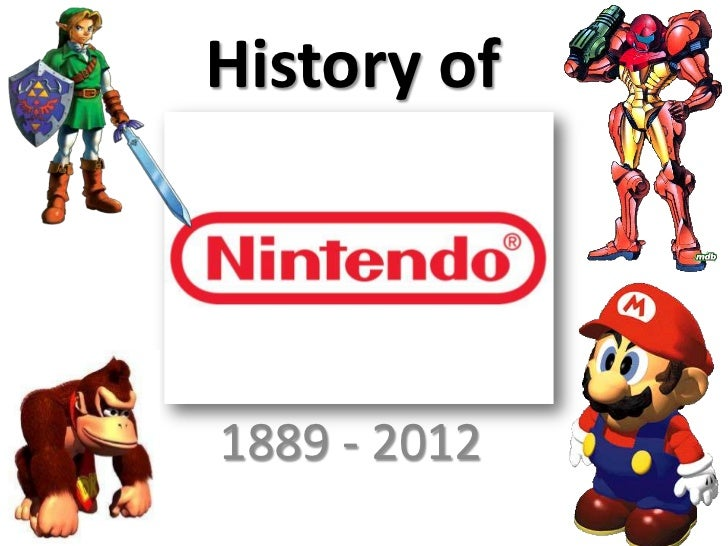 History of1889 - 2012
