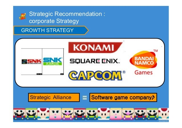 nintendo company strategic management Nintendo's part-interest in the pokémon company gave it some lift after  one  part of that strategy involved appealing to toy retailers who had.