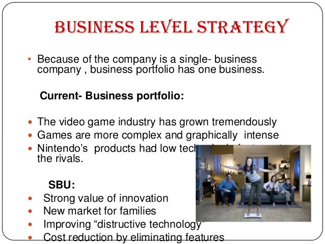 nintendo business plan
