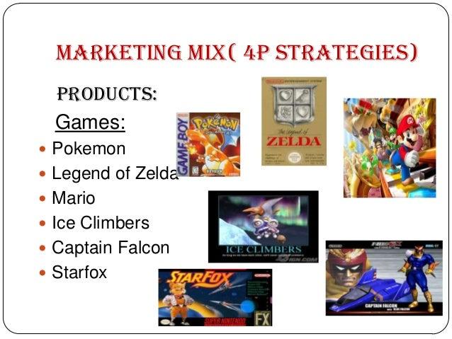 Nintendo Marketing Mix