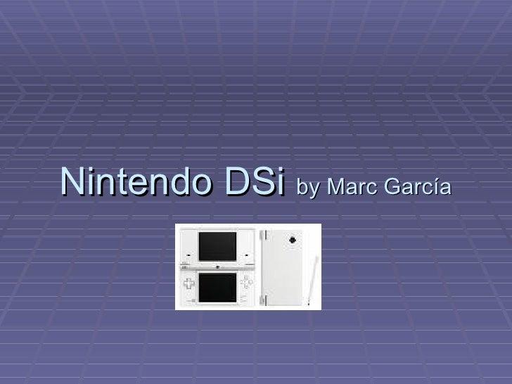 Nintendo DSi  by Marc García