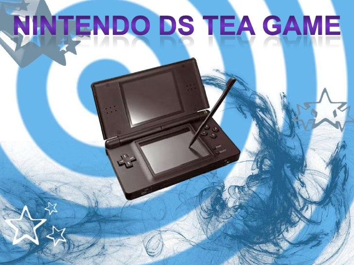 Nintendo DS Tea Game<br />