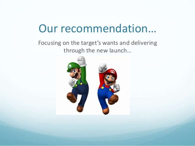 the marketing strategy of nintendo wii essay Blue ocean strategy is a marketing theory from a book published in 2005 which was written by w chan kim and renée mauborgne nintendo released the wii.