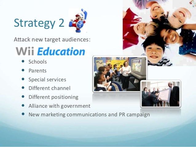 marketing analysis for nintendo wii 932 nitendo wii nintendo co, ltd is a multinational corporation located in kyoto, japan the company started in 1889 as the maker of hanafuda cards, developed various niche businesses, and in 1963 turned to video games.