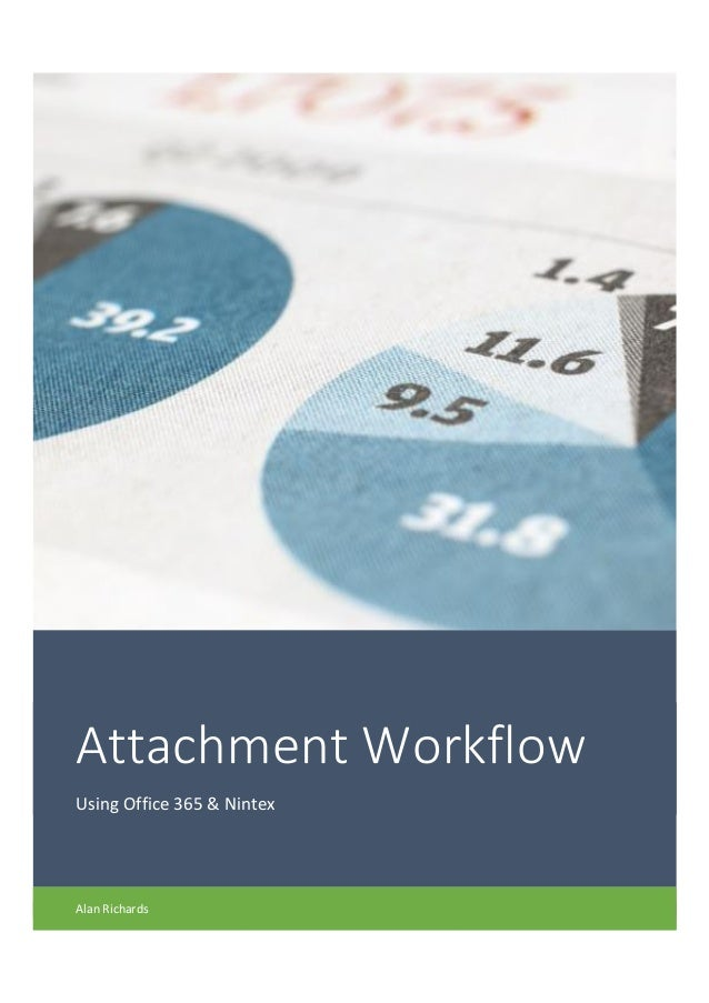 Attachment Workflow Using Office 365 & Nintex Alan Richards