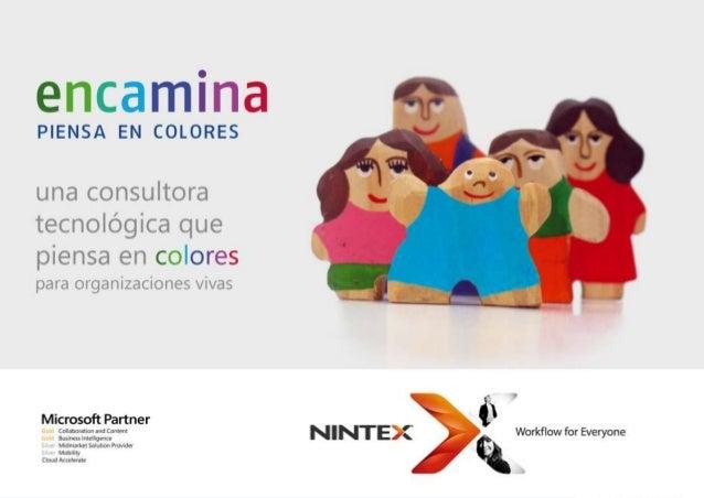 Introducción a NINTEX. Capacidades, beneficios y  casos de uso