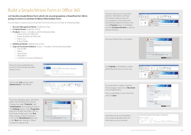 Nintex workflow sharepoint online create best free for Office 365 design guide