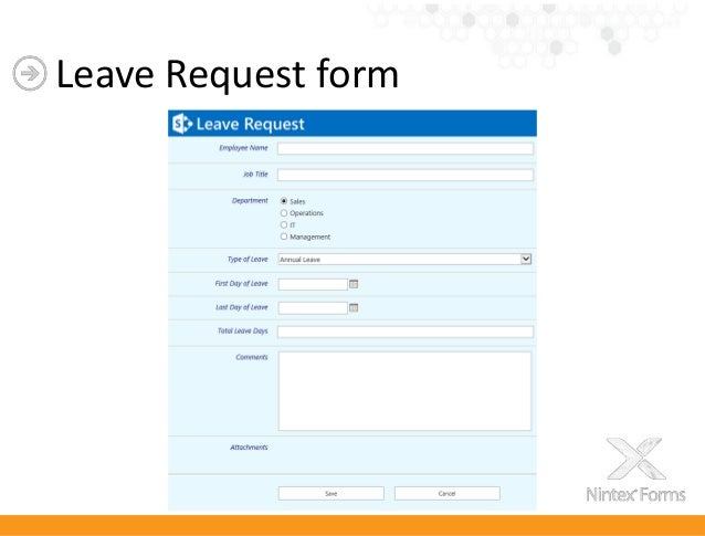 leave request forms templates