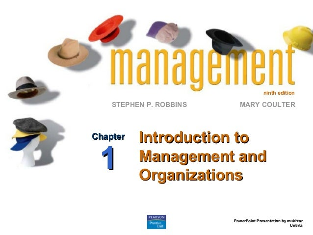 Introduction to people organisation and management