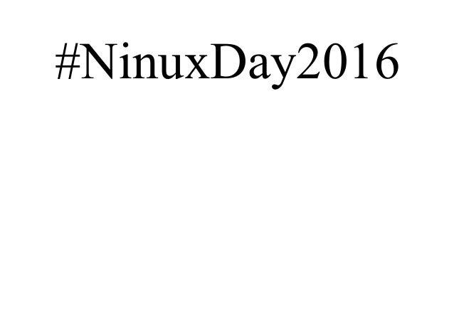 #NinuxDay2016