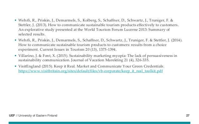 UEF // University of Eastern Finland • Wehrli, R., Priskin, J., Demarmels, S., Kolberg, S., Schaffner, D., Schwartz, J., T...