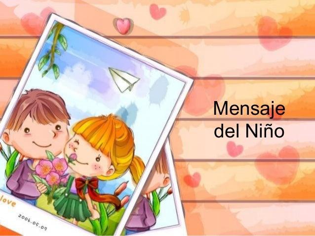 Mensajedel Niño