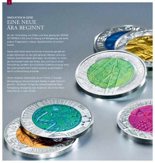 Sammlermünzen Revolution Neue Silber Niob Münzen Von Münze österre