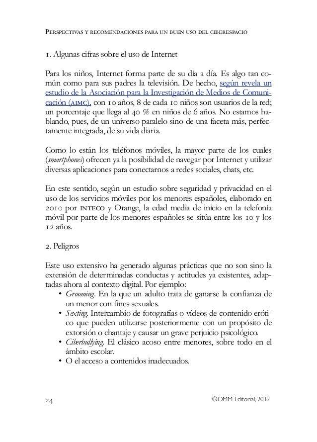 Niños, adolescentes y entorno 2.0. Libro colectivo de la Universidad Rey Juan Carlos Slide 2