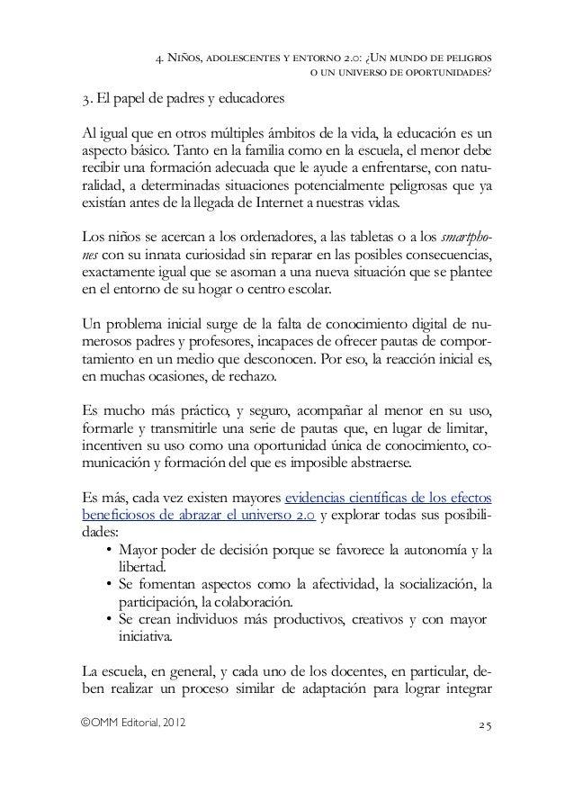 Niños, adolescentes y entorno 2.0. Libro colectivo de la Universidad Rey Juan Carlos Slide 3