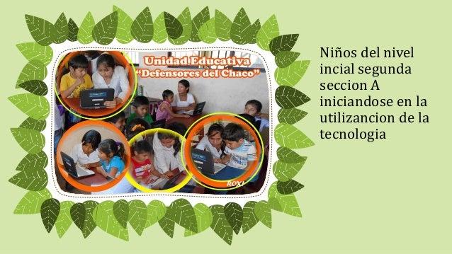 Niños del nivel  incial segunda  seccion A  iniciandose en la  utilizancion de la  tecnologia