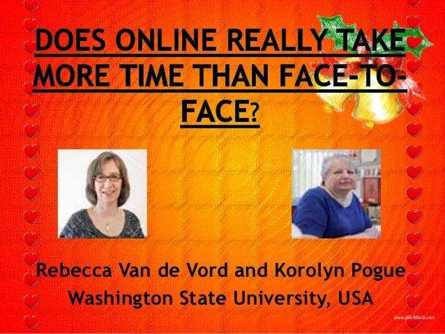 Rebecca Van de Vord and Korolyn Pogue   Washington State University, USA