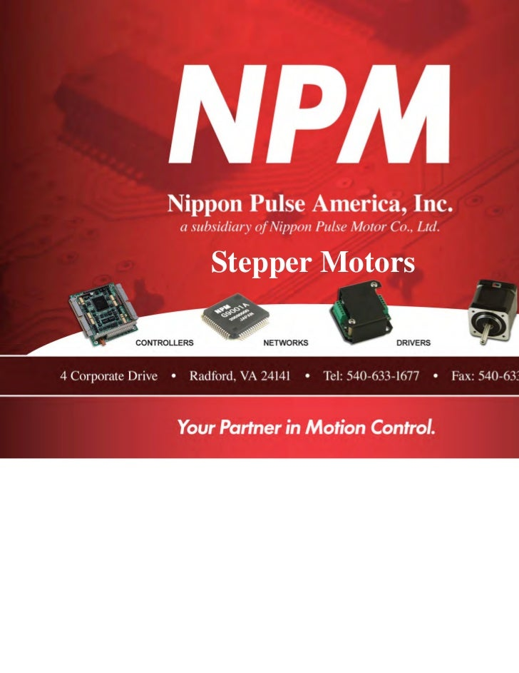 Stepper Motors                 Sold & Serviced By:                                       ELECTROMATE                      ...