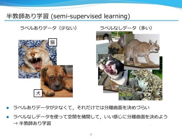 論文紹介 Semi-supervised Learning with Deep Generative Models Slide 2