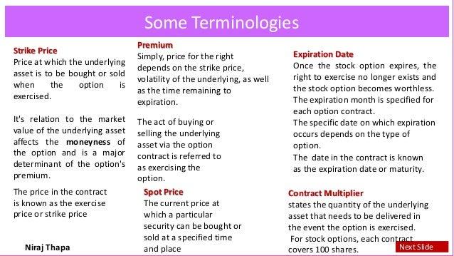 Niraj on Financial Derivatives