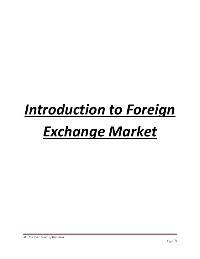 """Foreign Exchange Risk Management"" at Rolex Rings Pvt. Ltd"