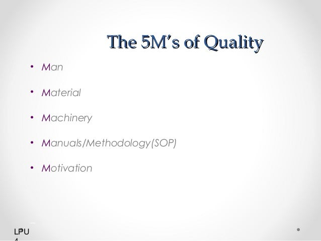 defining the process of total quality management Director, university center for quality assurance  prof clinical  management  may be defined as the achievement of  quality assurance: process-oriented  strategy ▻ quality  total quality management: deals with all.