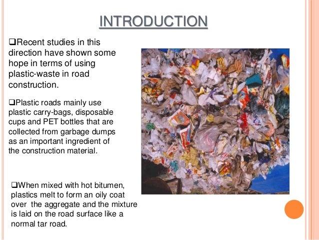 Plastic bags advantages and disadvantages - Plastic In Road Construction