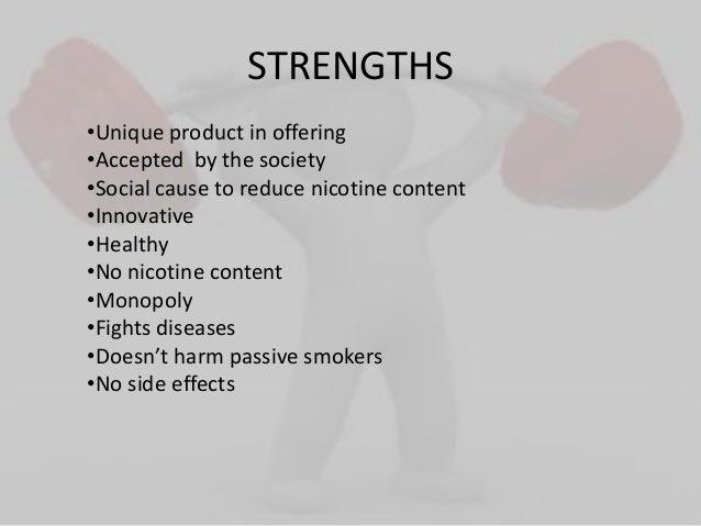 nirdosh cigarettes side effects