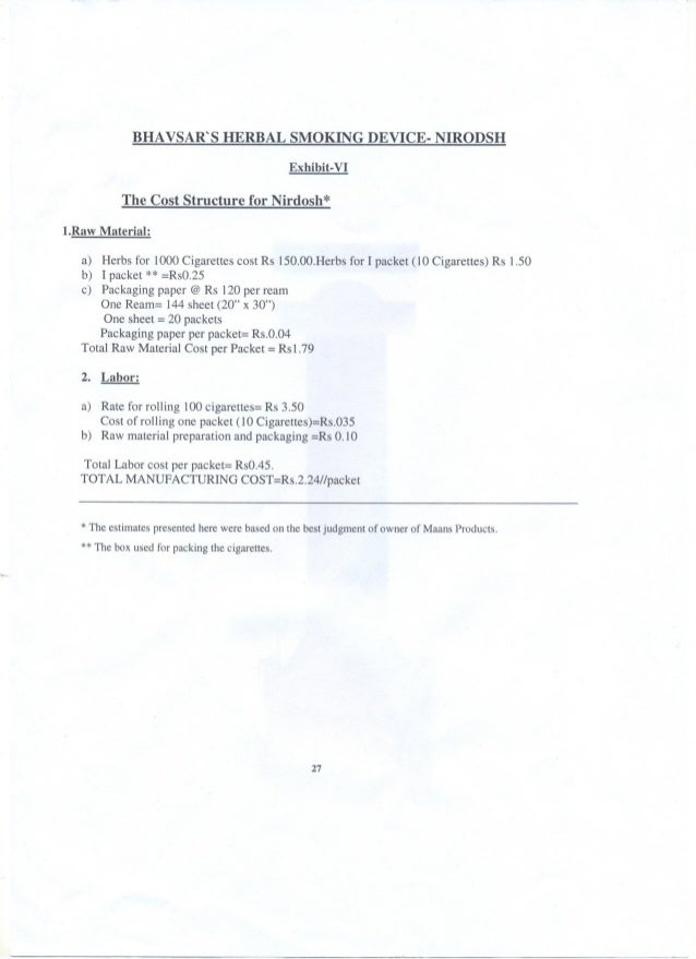 Case Study: Nirdosh