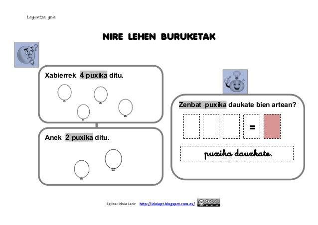 Nire  lehen  buruketak  9 arte irudiekin  Slide 2