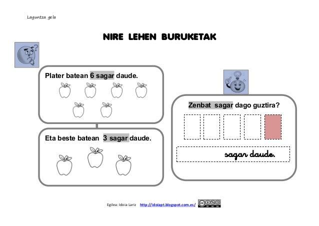 Nire  lehen  buruketak  9 arte irudiekin  Slide 3