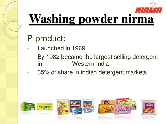 nirma s soaps detergents in rural areas Had ranked nirma india's seventh largest consumer brand  rural areas history in the  nirma entered the toilet soaps category with nirma bath soap, .