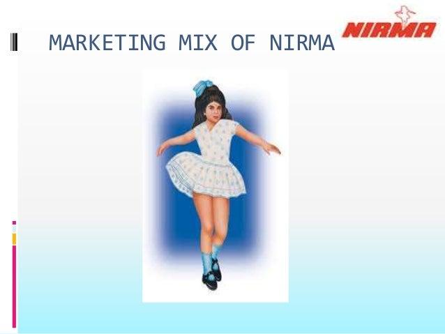 MARKETING MIX OF NIRMA