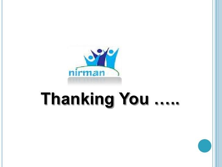 Thanking You …..