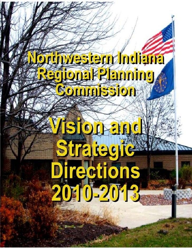 NIRPC 2010 13 Vision Brochure