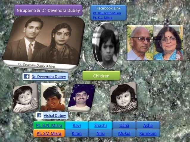 Facebook LinkNirupama & Dr. Devendra Dubey       Pt. Baij Nath Misra                                    Pt. K.L. Misra    ...