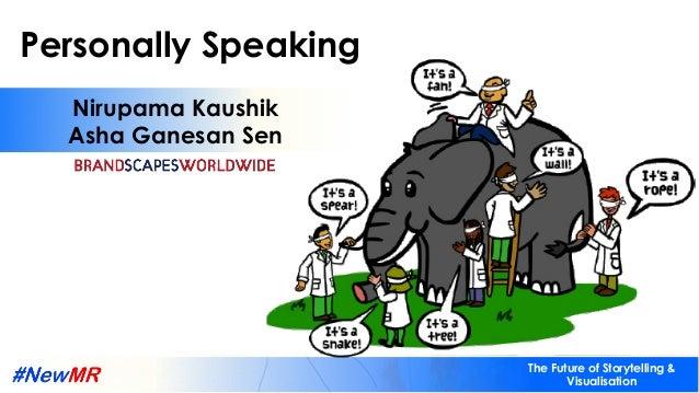 Personally Speaking Nirupama & Asha | BRANDSCAPES WORLDWIDE The Future of Storytelling & Visualisation Personally Speaking...