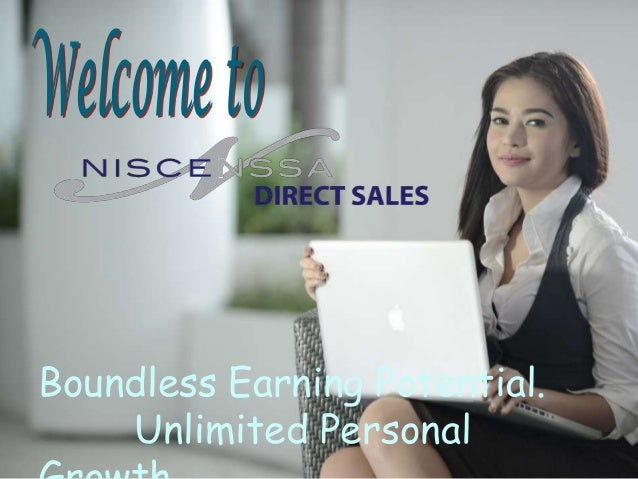 Boundless Earning Potential.    Unlimited Personal