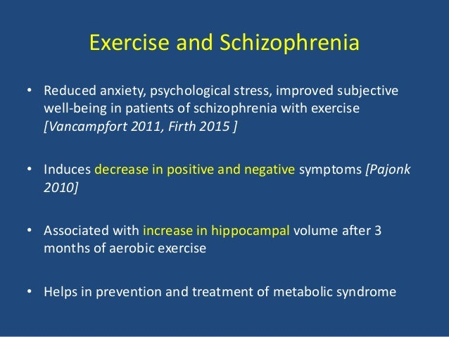exercise reduce anxiety symptoms