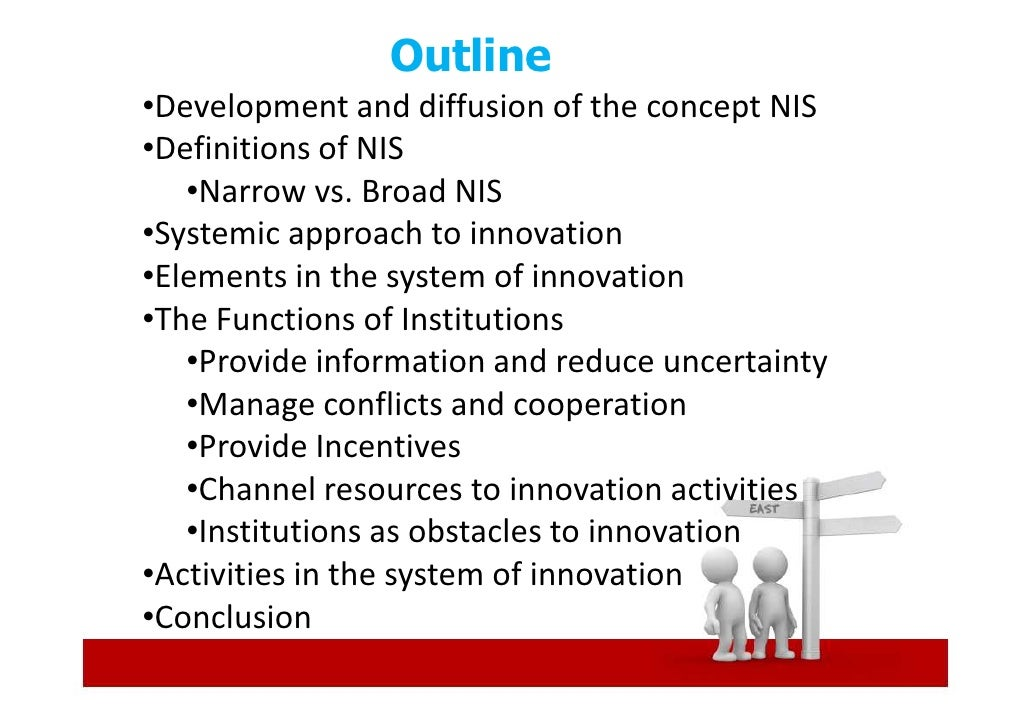 National Innovation Systems & Institutions Slide 2
