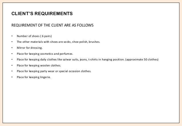 Requirements For Interior Design nisha parwani b.sc interior design student work