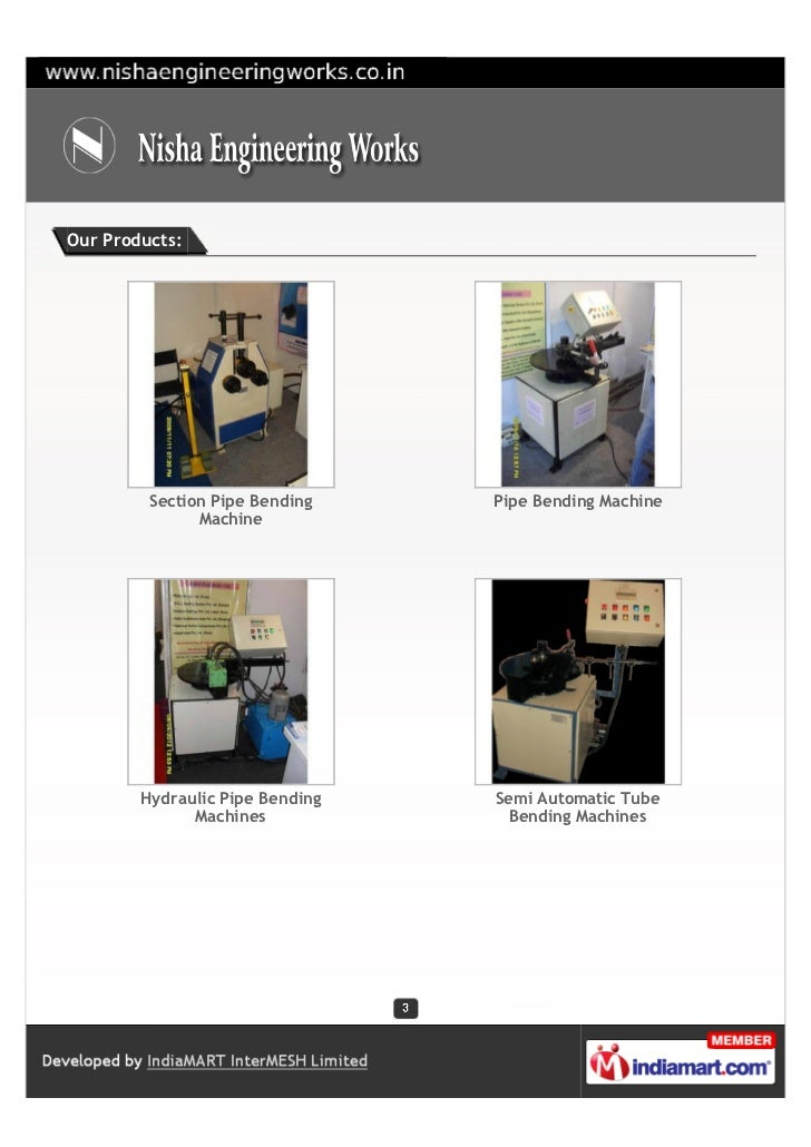 Our Products:         Section Pipe Bending    Pipe Bending Machine               Machine        Hydraulic Pipe Bending   S...