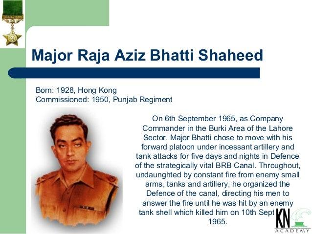 major aziz bhatti essay help