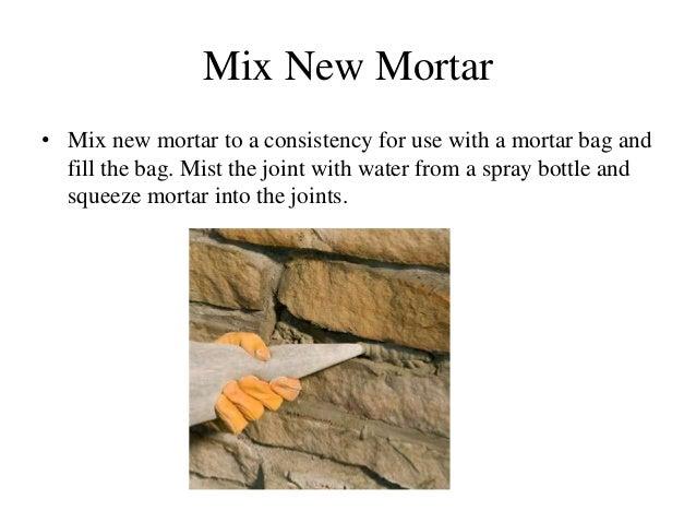 Nishant Parekh MRS repair of stone masonry PPT