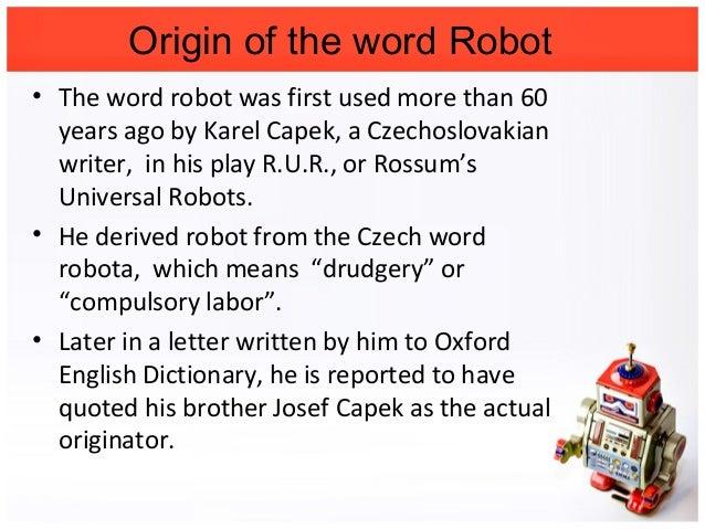 basics and introduction of robotics